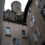 Foix chateau looms