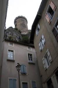 Foix chateau looms