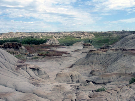 Dinosaur Provincial Park, by Peter Hoven