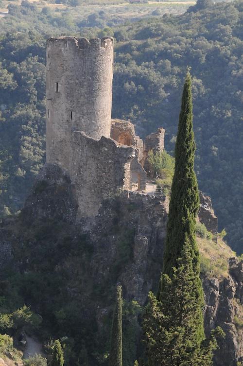 chateau régine, at one of the four lastours castles
