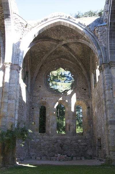 Abbaye Villelongue apse