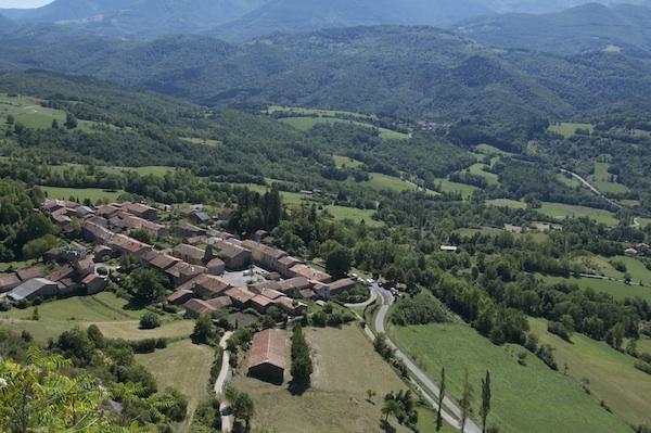 Roquefixade village