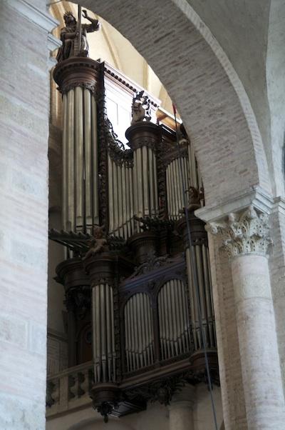 Saint Sernin Basilica organ