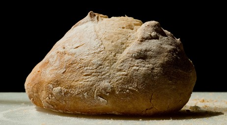 boule of country bread. Photo © by Brett Neilson