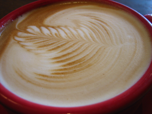 coffee art. Photo © Jeremy Keith, adactio.com