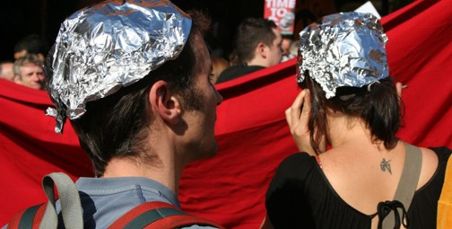 Tinfoil hats. Photo © teaeff, via flickr
