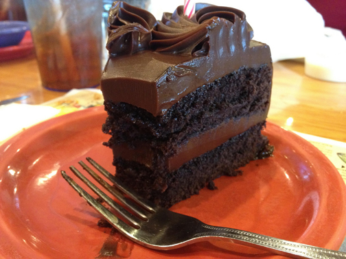 Chocolate Cake… mmm, so tempting—so distracting! Photo © Hudson, The, on flickr