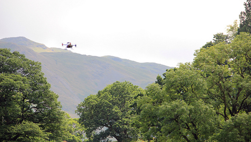 Drone over Patterdale, U.K. Photo © John Mills - millstastic, flickr