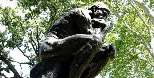 The Thinker. Photo © edillalo, flickr - creative commons