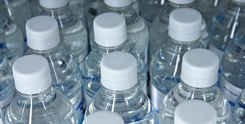 Bottled water. Photo © Steven Depolo, creative commons
