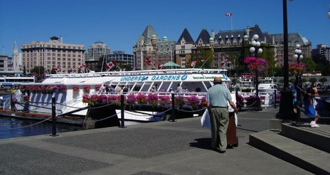 Undersea Gardens no longer operates in Victoria, B.C.'s Inner Harbour. Photo © Brian Chow, via flickr & creative commons