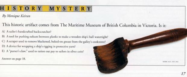 History Mystery: Serving Mallet quiz