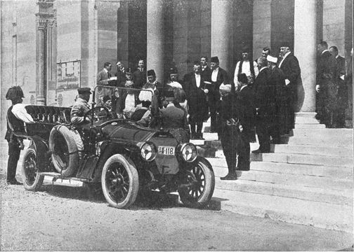 Franz Ferdinand's motorcar, June 28 1914, Sarajevo