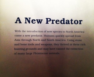 The New Ice Ages: A New Predator sign