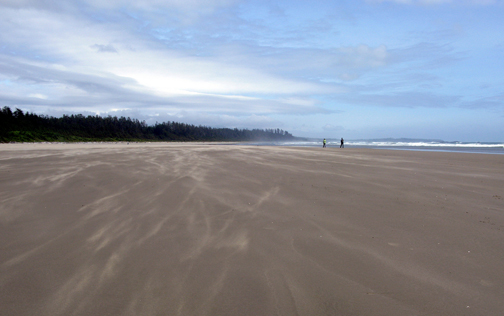 Long Beach, Pacific Rim National Park. Photo © Kyla Duhamel, via creative commons and flickr