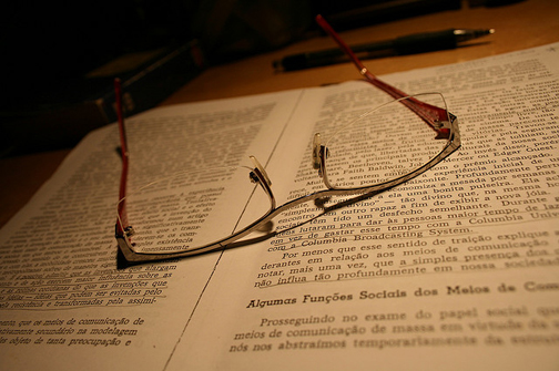 Studying. Photo © Lidyanne Aquino, via creative commons and flickr