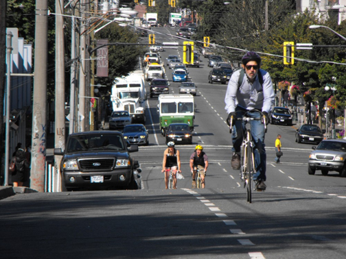 Cycling in Victoria. Photo © John Luton, via creative commons and flickr