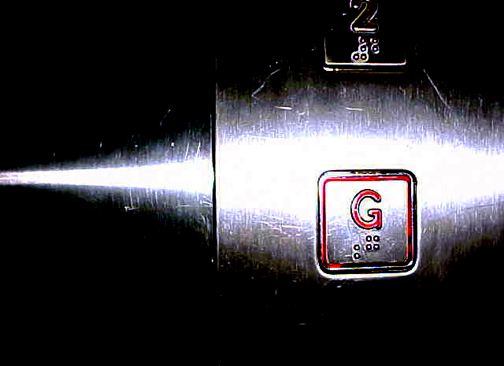 Elevator buttons: dirtier than a toilet seat. Photo © Dan Taylor, via creative commons and flickr
