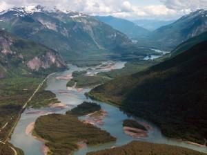 Spectacular Skeena River Valley. Photo © Sam Beebe, Ecotrust