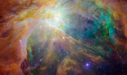 Orion nebula. Photo © NASA