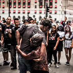 Zombies. Photo © Gianluca Ramalho Misiti, via flickr and Creative Commons; www.facebook.com.grmisiti
