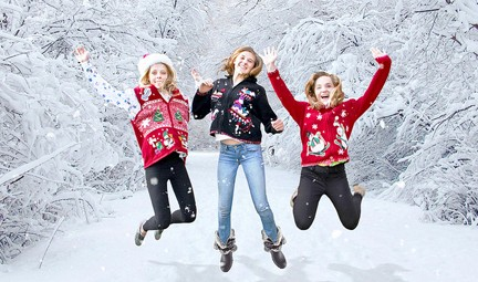 Christmas sweaters get respect. Photo © UglySweaterShop-com via flickr/Creative Commons